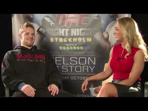 Fight Night Stockholm: Gunnar Nelson Pre-fight Interview