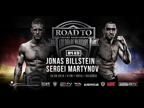 Road to Abu Dhabi 4: Billstein vs. Martynov