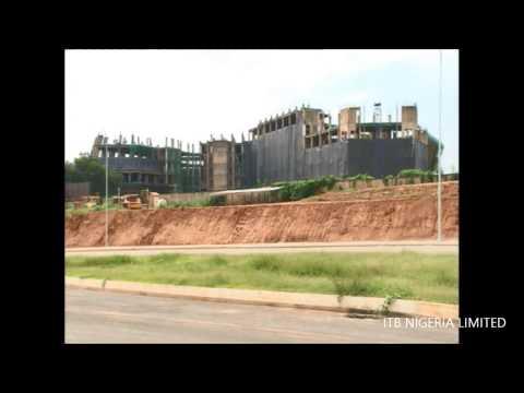 Demolition of Old Nitel Building - Abuja,Nigeria -  27.7.2013