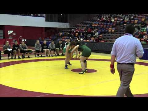 2015 Canada West Championships 82 kg Marlen Figueroa vs Megan Nelthorpe