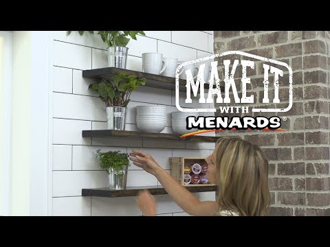 Floating Shelves - Make It Wit...