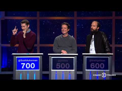 Scott Aukerman, Jon Daly, Brett Gelman  The Blunder Years  @midnight w Chris Hardwick