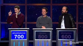 Scott Aukerman, Jon Daly, Brett Gelman - The Blunder Years - @midnight w/ Chris Hardwick