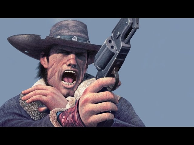 RetroGames: Red Dead Revolver, gameplay no Ps2