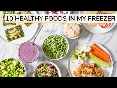 10 HEALTHY FREEZER FOODS | my go-to staples