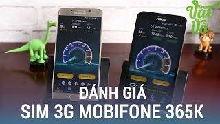 Vật Vờ Giới Thiệu Sim 3g Mobifone 365k Năm Không Nạp Thêm Tiền Maxspeed Dịch Vụ Zing