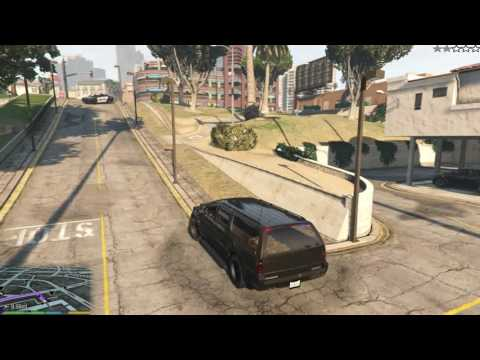 gta 5 for pc (how to  steal fbi car part 1 of 2)