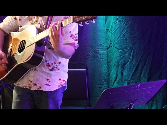 Guitar Student Performs Space Oddity