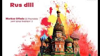 Rus Dili 0 Dan Proqrami Youtube