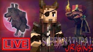 Minecraft Supernatural Origins #26.5 (Live Modded Survival)