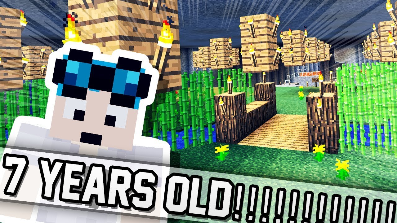 PLAYING THE OLDEST MINECRAFT MAP YouTube - Minecraft map 1 11 2 player