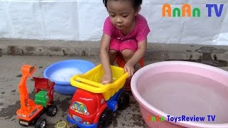 tam xe o to do choi tre em - rua xe o to do choi tre em - washing car toy  anan toysreview tv