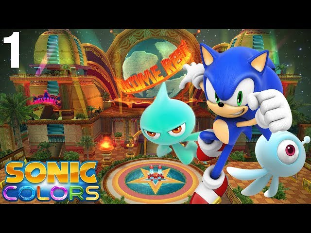 Sonic Colors (Wii) [4K] - Story Playthrough (1/7) - Tropical Resort