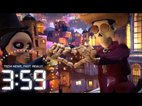 """Step into the Pixar movie """"Coco"""" in VR (The 3:59, Ep. 318)"""