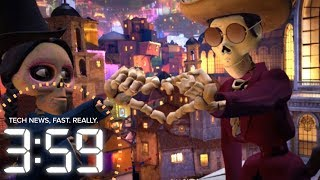 "Step into the Pixar movie ""Coco"" in VR (The 3:59, Ep. 318)"