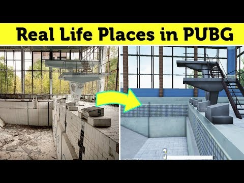 All New Real Life Places In Pubg 2019 Youtube