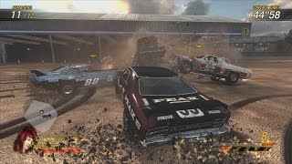 Flatout Ultimate Carnage - Destruction Derby Mayhem! (PC Gameplay / Commentary)