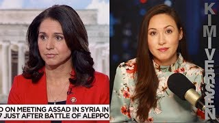 Tulsi Gabbard evades the press, and for good reason. msnbc.com/morning- joe/watch/rep-gabbard-assad-is -not-an-enemy-of-the-us-143809 3891865  Like this show? Become a premium member by ..., From YouTubeVideos