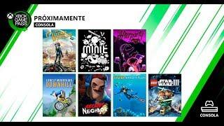 Próximamente en Xbox Game Pass...