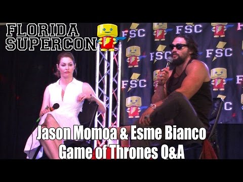Florida Supercon 2014 Jason Momoa & Esme Bianco Game of Thrones Q&A