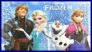 Frozen Puzzle for kids  Olaf, Elsa, Anna, Kristoff - rompecabezas frozen - アナと雪の女王 パズル