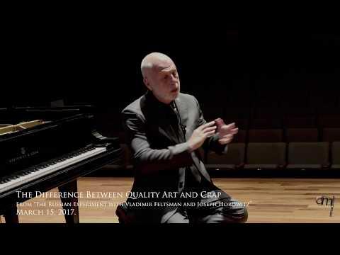"Vladimir Feltsman on Art and ""Crap"""