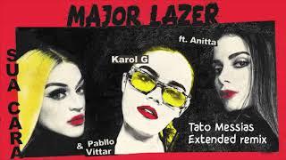 Major Lazer Feat Anitta Pabllo Vittar Karol G Sua Cara Tato Messias Extended Remix