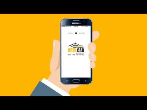 About Open Cab Mobile App