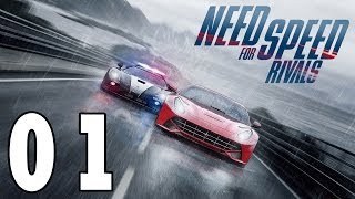 Let´s Play Need for Speed Rivals Deutsch - Part 1 - Xbox One Gameplay Walkthrough