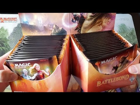 Battlebond Box Opening = $150.00 BOOSTER BOXES AND CLIMBING