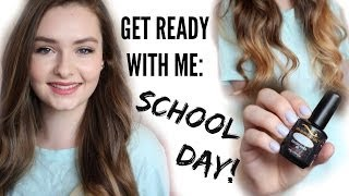 Get Ready With Me & OOTD: School Day!