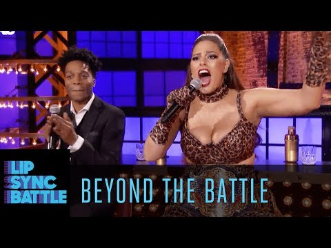 Thumbnail: Ashley Graham & Jermaine Fowler Go Beyond the Battle | Lip Sync Battle