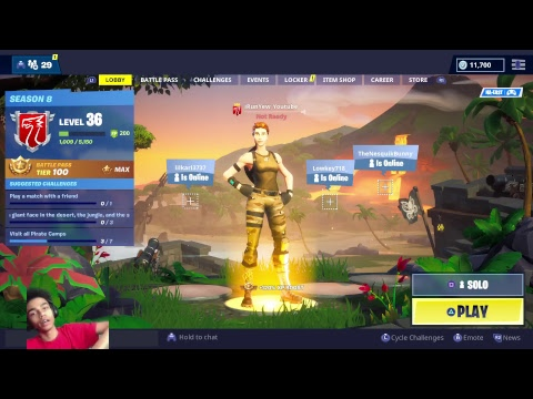 Best Solo Player on Fortnite | Best Shotgunner on PS4 | 2630+ Solo Wins