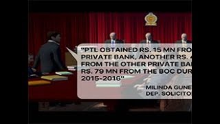 Bond Commission investigates fiscal dealings of PTL (English)