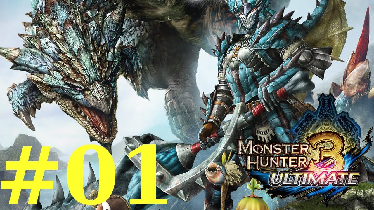 monster hunter 3 ultimate how to play online