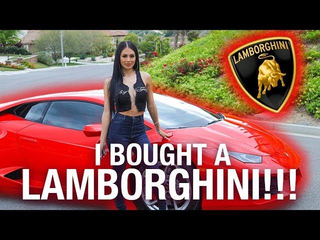 I BOUGHT A LAMBORGHINI!!