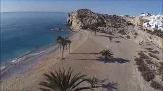 Drone en Playa El Paraiso, Villajoyosa España