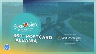 360 Aveiro – Eugent Bushpepa's Postcard  Eurovision 2018