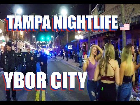 Nightlife In Tampa Florida: See Ybor City Bars And Clubs During Gasparilla