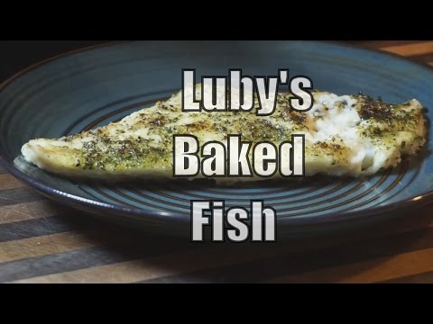Luby's Baked Fish