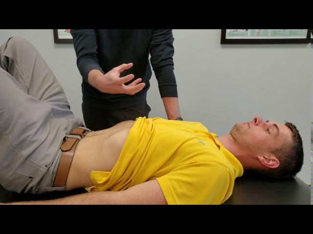 Diaphragm Breathing (Patient Demonstration) | Chesterfield Chiropractor