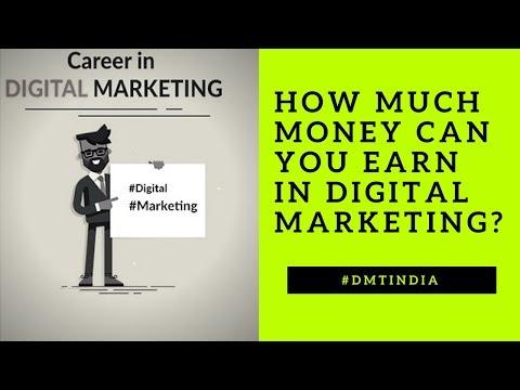 Digital Marketing Earnings: How Much Money Can You Earn in Digital Marketing 🤔
