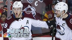 NHL Stanley Cup Playoffs 2019: Avalanche vs. Flames   Game 2 Highlights   NBC Sports