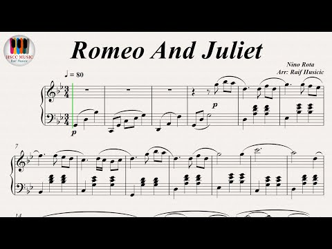 Romeo And Juliet A Time For Us  Nino Rota, Piano PDF