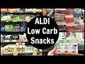 ALDI Low Carb Snacks List