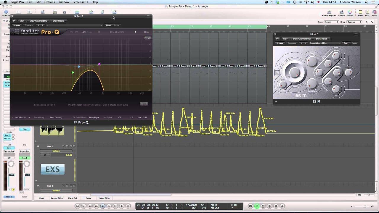 Villem Drum & Bass Sample Pack Tutorial 3 - Bassline Manipulation #1