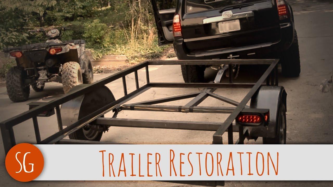 diy trailer restoration how to youtube