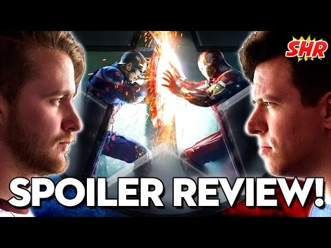 Captain America: Civil War Full Movie Review! #SHRoundup