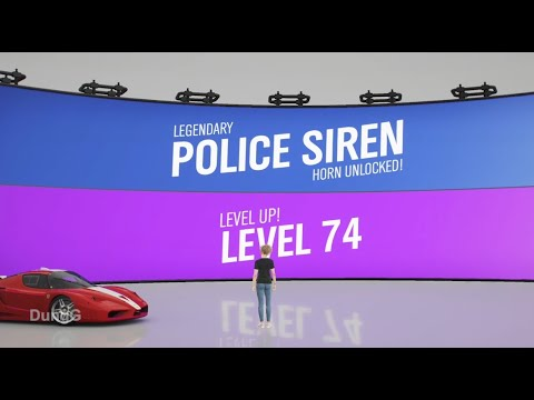 Download How to get Police Siren in Forza Horizon 4