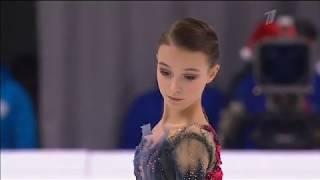 Чемпионат России по фигурному катанию 2020 в Красноярске Короткая программа Анны Щербаковой